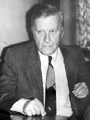 Леонид Бородин в библиотеке А.Белоусенко